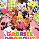 DVD Gabriel DropOut TV Series Vol.1-12End Japanese Anime English Sub Region All