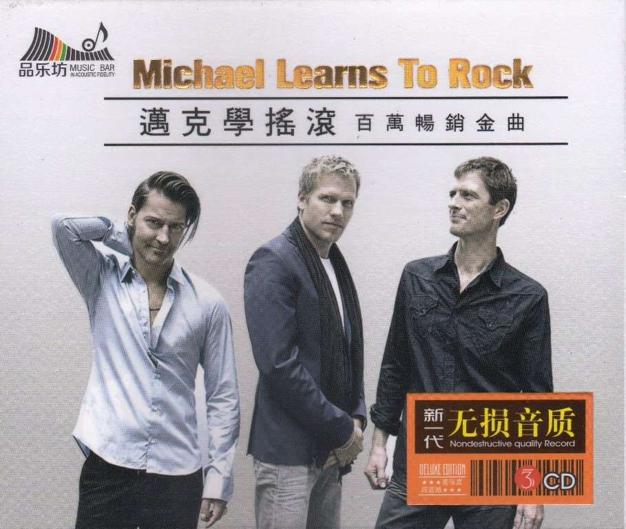 MICHAEL LEARNS TO ROCK MLTR Million Best Sellers Hits 3CD Gold Disc 24K Hi-Fi