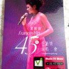 Francis Yip Lai-yee 45 yesr Live in Hong Kong Concert 叶丽仪 45年香港情演唱会 Karaoke 2DVD