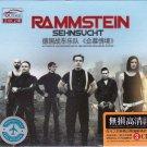 RAMMSTEIN Sehnsucht + Greatest Hits 3 CD Car Crystal Gold Disc 24K Hi-Fi Sound