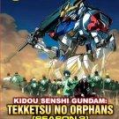 DVD ANIME Kidou Senshi Gundam Tekketsu no Orphans Season 2 G-Tekketsu Eng Sub