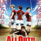 DVD All Out!! Vol.1-25End Complete TV Series Rugby Anime English Sub Region All