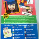 DVD 10 Subjects 781 Flashcards in Level 3 DVD