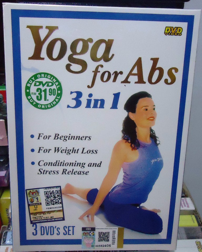 Free Weight Loss Yoga For Beginners: Yoga For Abs 3 In1 For Beginners, Weight Loss