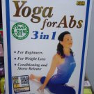 Yoga for Abs 3 in1 for Beginners, Weight Loss, Conditioning and Stress Release (3DVD set)