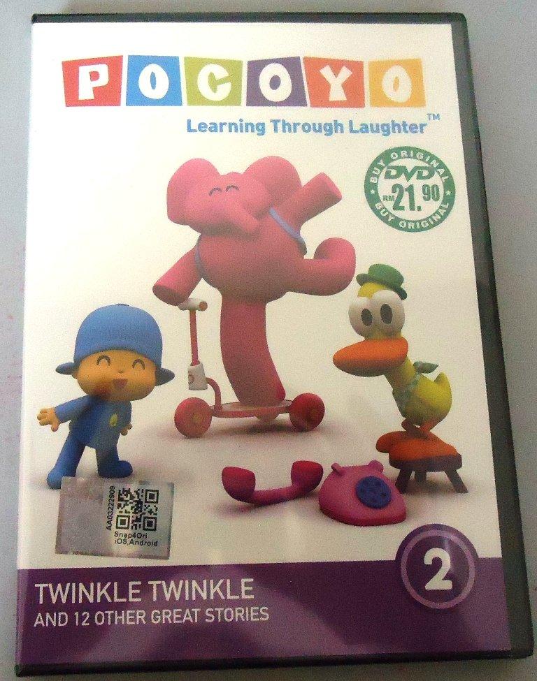 POCOYO Twinkle Twinkle Vol.2 DVD