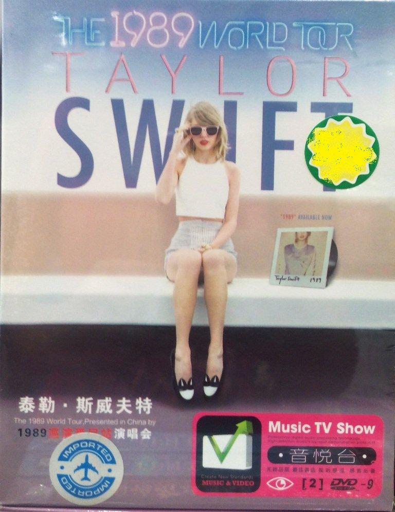 TAYLOR SWIFT The 1989 World Tour 2DVD