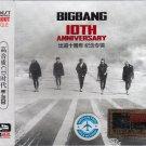 BIGBANG 10th Anniversary Best Collection 3CD Korean Band K-Pop HD Mastering