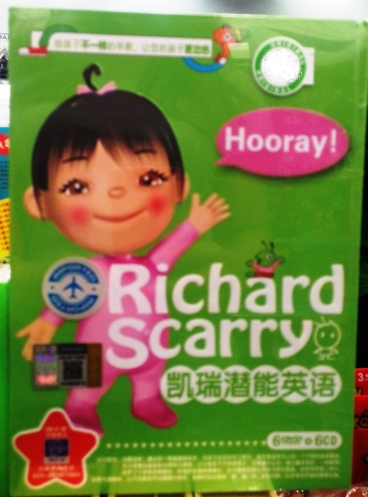 Richard Scarry Potential English �����语 (6DVD+6CD)