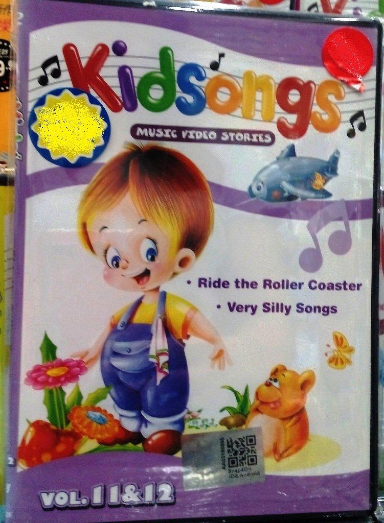 DVD Kidsongs Music Video Stories Vol.11&12 English Sub Region All