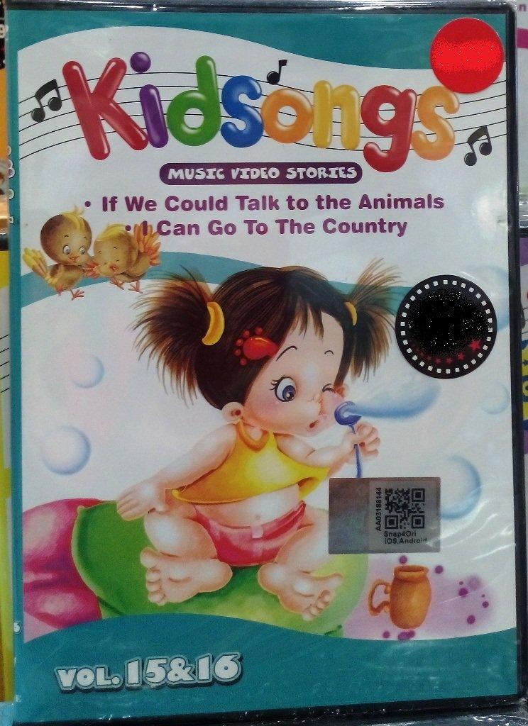 DVD Kidsongs Music Video Stories Vol.15&16 English Sub Region All