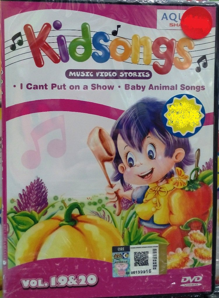 DVD Kidsongs Music Video Stories Vol.19&20 English Sub Region All
