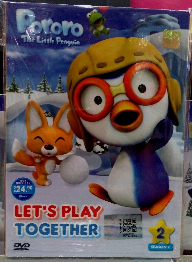 DVD ANIME Pororo The Little Pengiun Let´s Play Together English Audio English sub