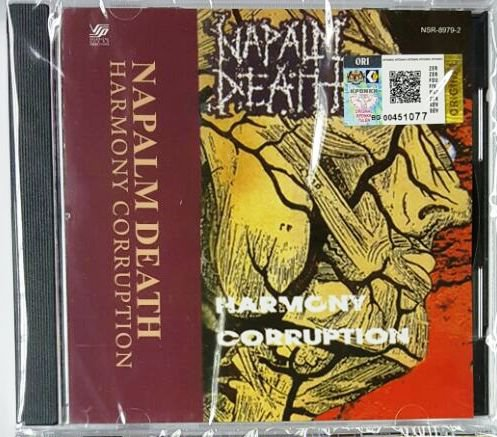Napalm Death �Harmony Corruption CD NEW Malaysia Release Death Metal Grindcore