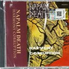 Napalm Death Harmony Corruption CD NEW Malaysia Release Death Metal Grindcore