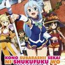 DVD ANIME Kono Subarashii Sekai ni Shukufuku wo Season 1+2 (TV1-22End) English sub