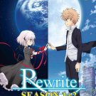 DVD Rewrite Season 1-2 Complete TV Series Vol.1-24End Japanese Anime English Sub