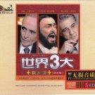 THREE TENORS Pavarotti Domingo Carreras Greatest Hits Deluxe Edition 3 CD Hi-Fi