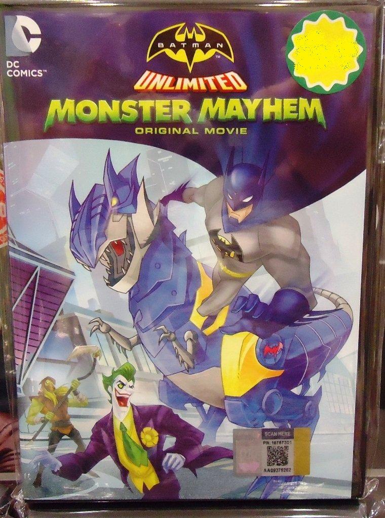 DC Comics Batman Unlimited Monster Mayhem Movie Anime DVD