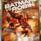 DC Universe Movie Batman vs Robin Anime DVD