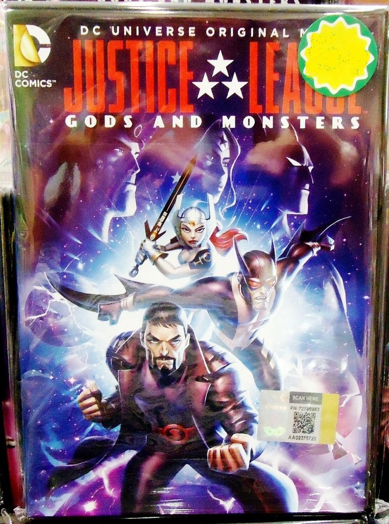 DC Universe Movie Justice League Gods And Monsters Anime DVD