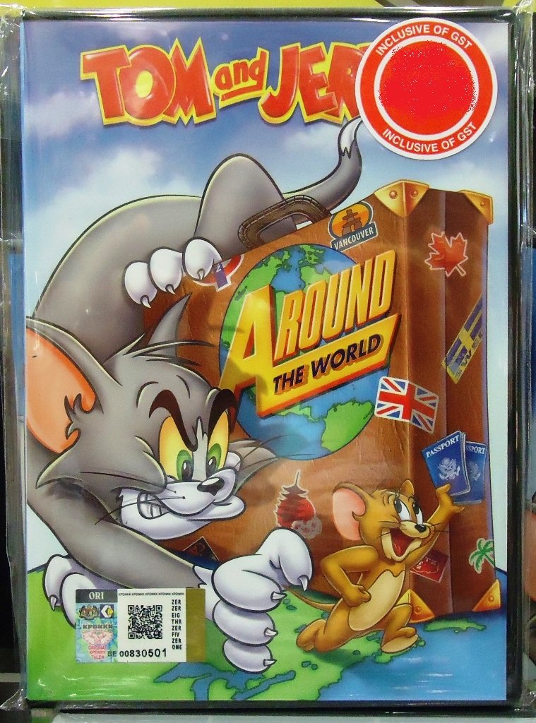 Tom and Jerry Around The World Anime DVD