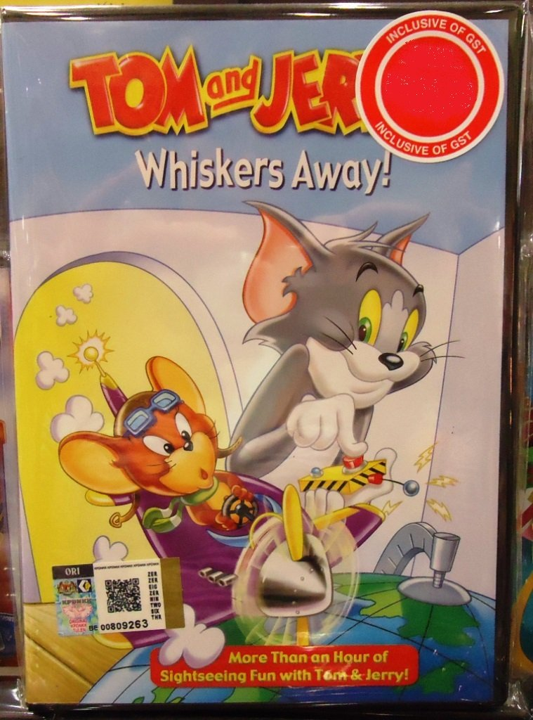 Tom and Jerry Whiskers Away! Anime DVD