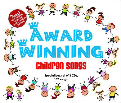 Award Winning Children Songs (3CD)