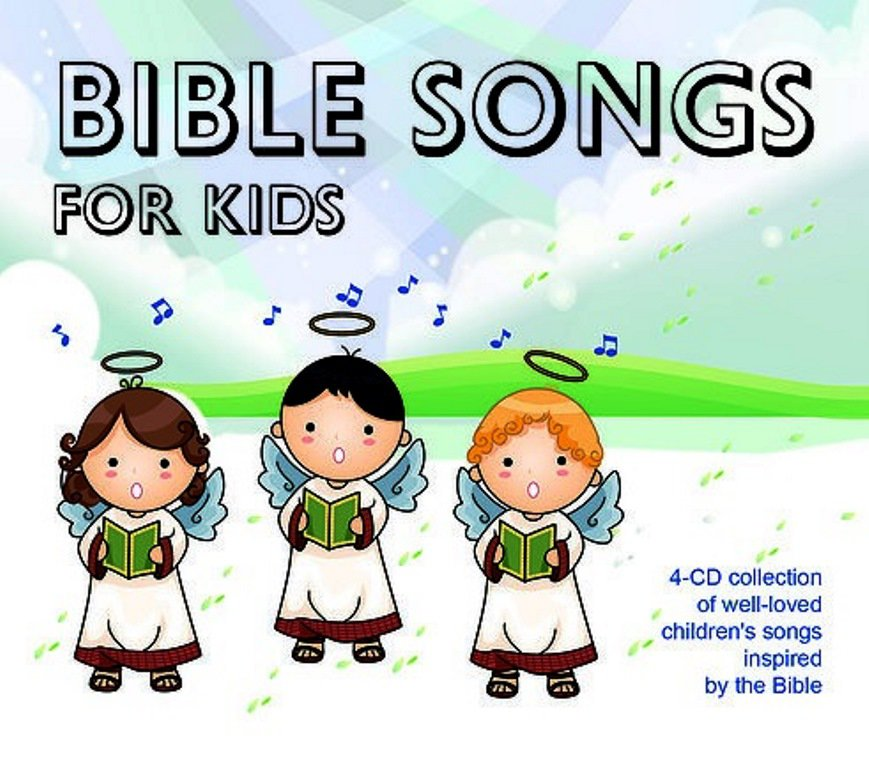 Bible Songs For Kids (4CD)