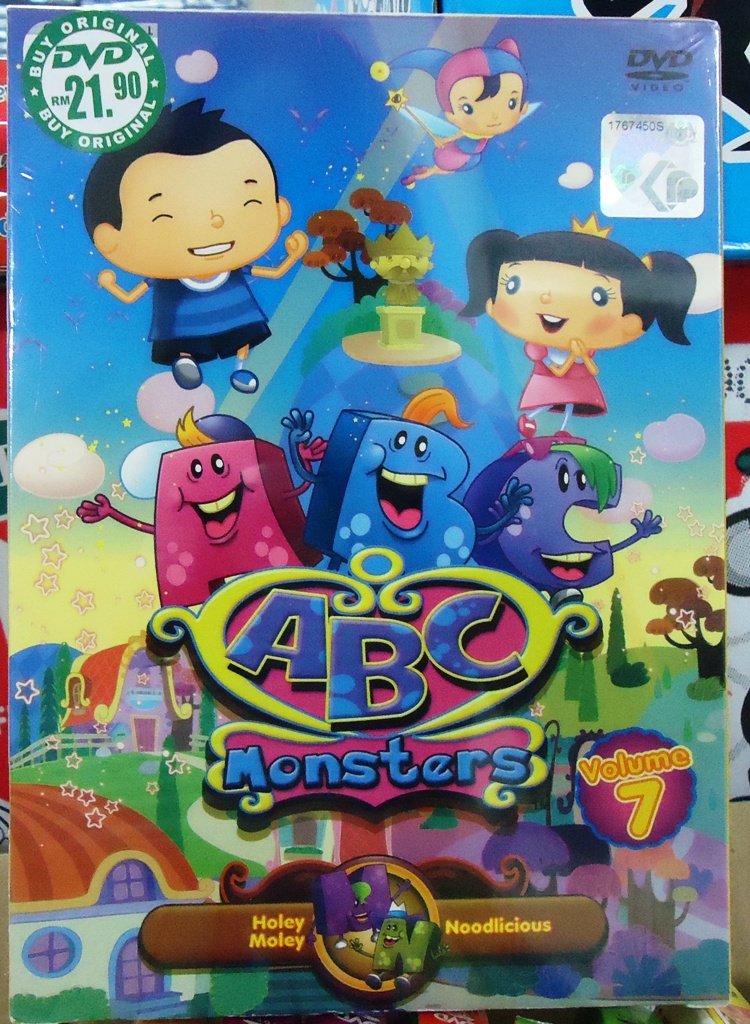 ABC Monsters Volume 7 Anime DVD