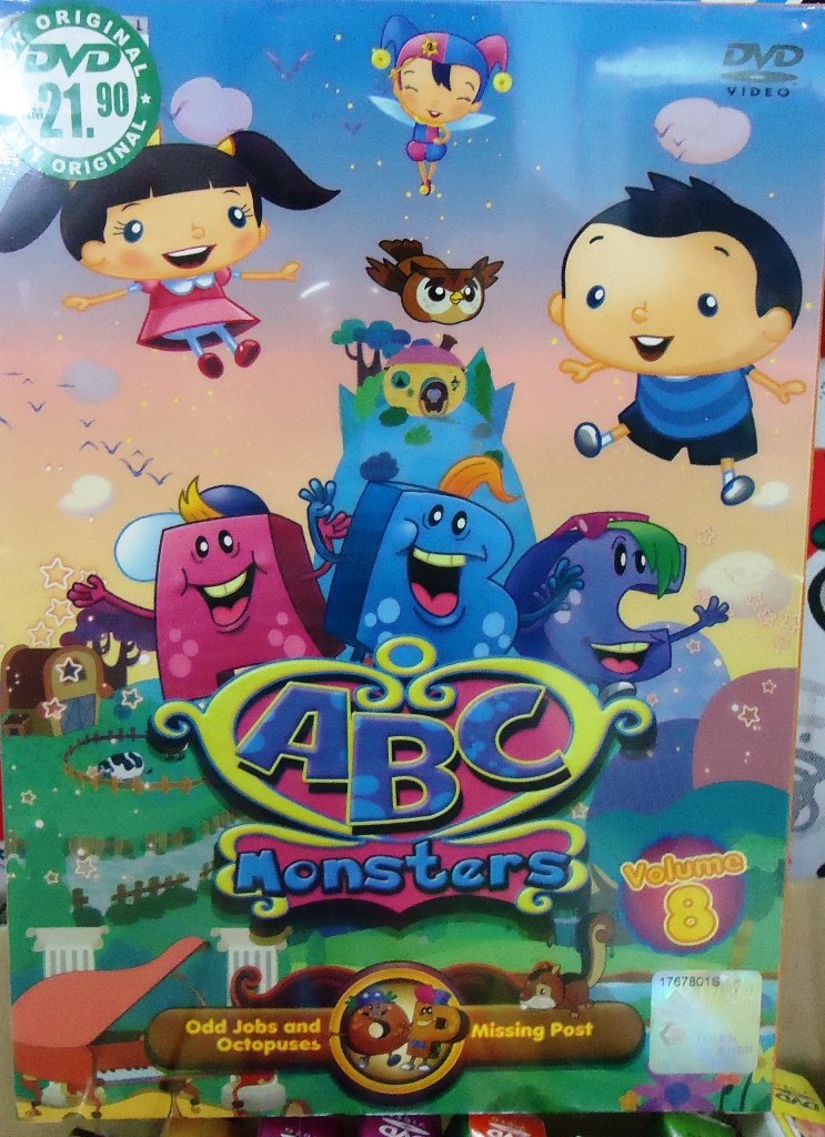 ABC Monsters Volume 8 Anime DVD