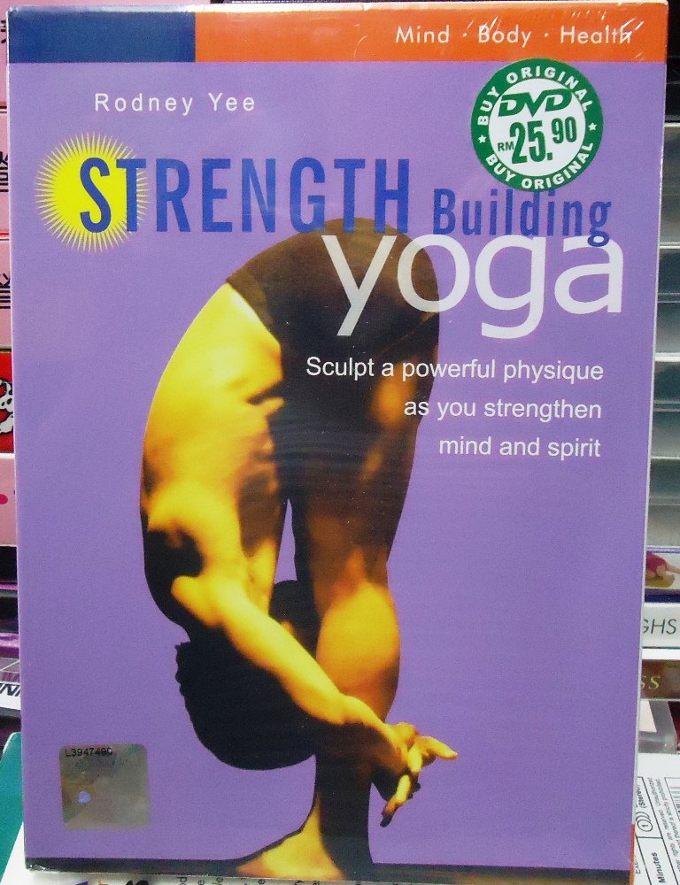 Rodney Yee Strength Building Yoga DVD