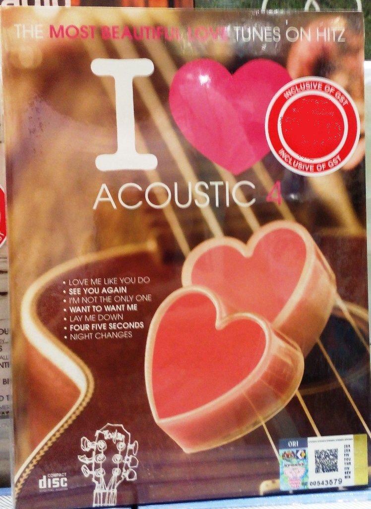 I Love Acoustic 4 (2CD)