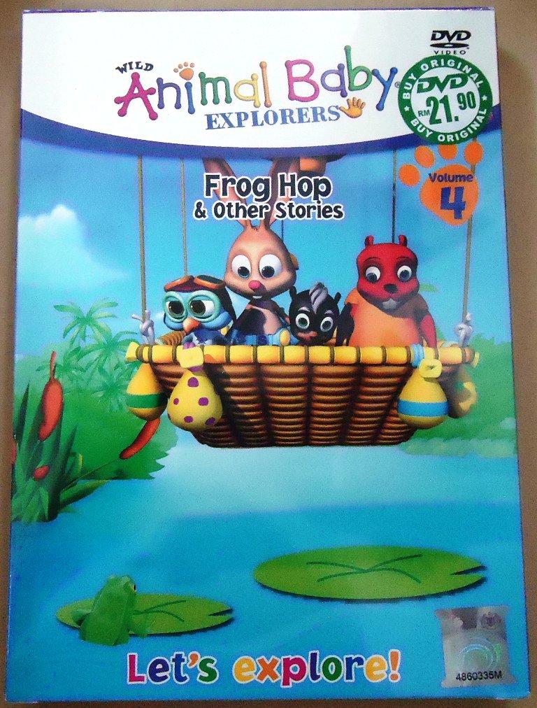 Animals baby EXplorers Frog Hop & Other Stories DVD