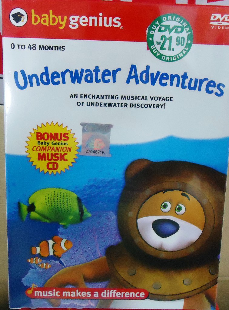 Baby genius Underwater Adventures DVD