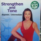 Strengthen and Tone Beginner Intermediate DVD English audio