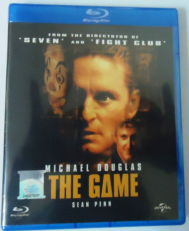 THE GAME Michael Douglas Sean Penn Blu-ray Multi Language Multi Sub