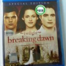 The Twilight Saga Breaking Dawn Special Edition Blu-ray Multi Language Multi Sub