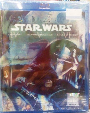 STAR WARS Episode 4,5,6 (3 Disc set) Blu-ray Multi Language Multi Sub