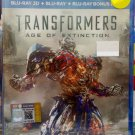 TRANSFORMERS Age Of Extinction Blu-ray 3D + Blu-ray + Blu-ray Bonus Disc Multi Language Multi Sub