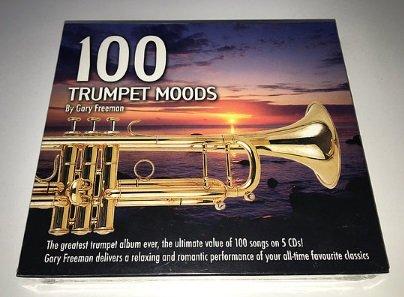100 Trumpet Moods By Gary Freeman (5CD)