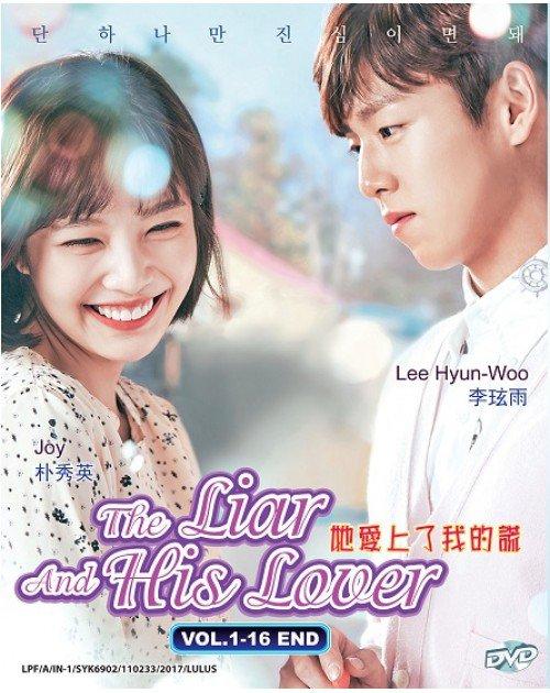 The Liar And His Lover Korean Drama DVD Kanojo wa Uso o Aishisugiteru Eng Sub