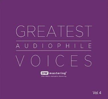 Greatest Audiophile Voices Vol.4 (CD) DW Mastering 24bit 96kHz Audiophile Mastering