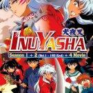 DVD ANIME Inuyasha Feudal Fairy Tale Season 1-2 Vol.1-167End + 4 Movies Eng Sub