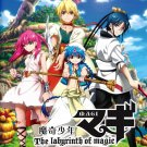 DVD ANIME Magi The Labyrinth Of Magic Season 1-3 Sinbad no Bouken English Sub