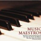 Music Maestros - featuring Dan Siegel, Ken Navarro, Jim Brickman, Peter Kater, James Last (2CD)