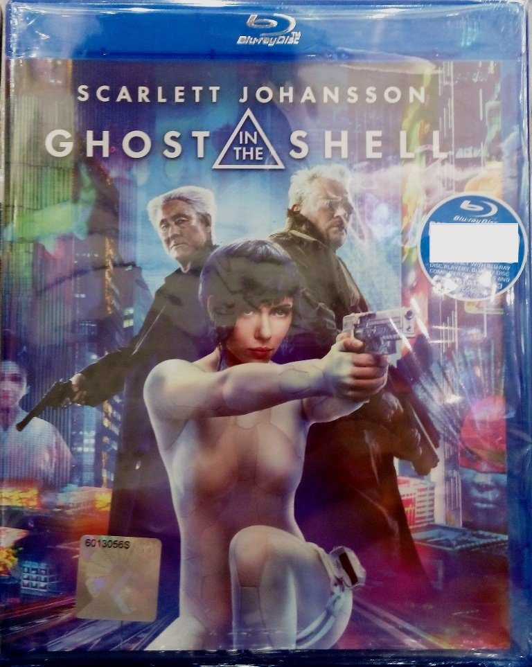 Ghost In The Shell Scarlet Johansson Blu-ray Multi Language Multi Sub