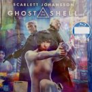 Ghost In The Shell Scarlet Johansson Blu-ray Multi Language Multi Sub