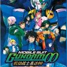 DVD Mobile Suit Gundam 00 Complete TV Series Season 1-2 + Movie English Sub