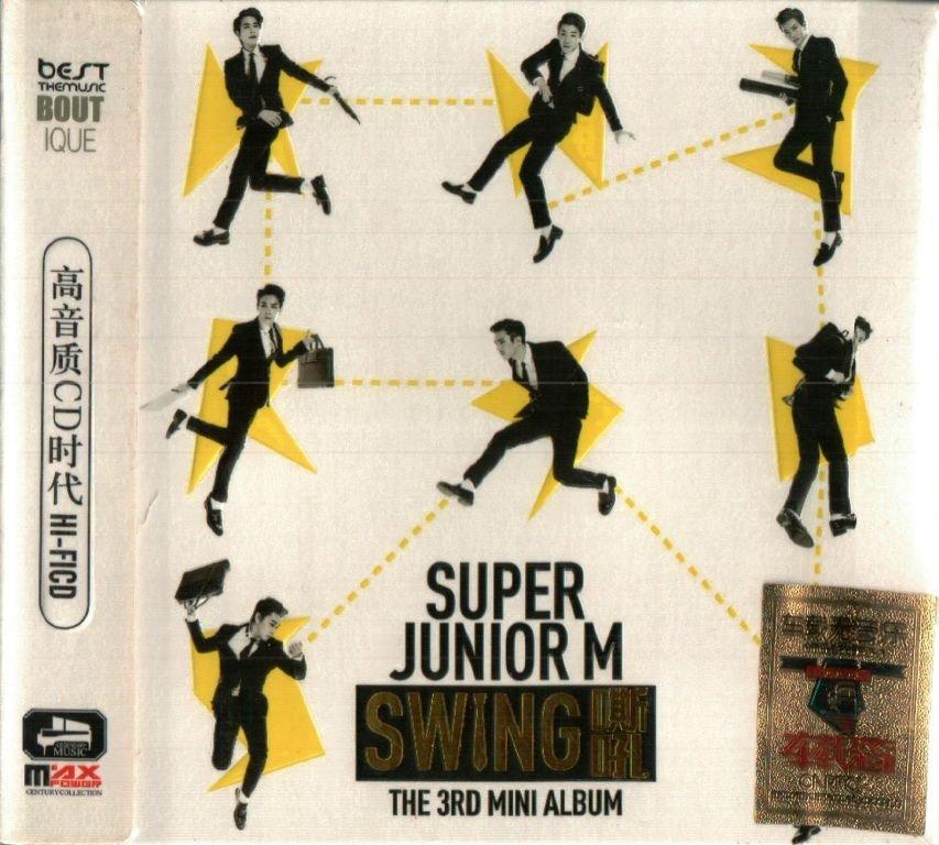 Super Junior Swing The 3rd Mini Album + Greatest Hits 3CD